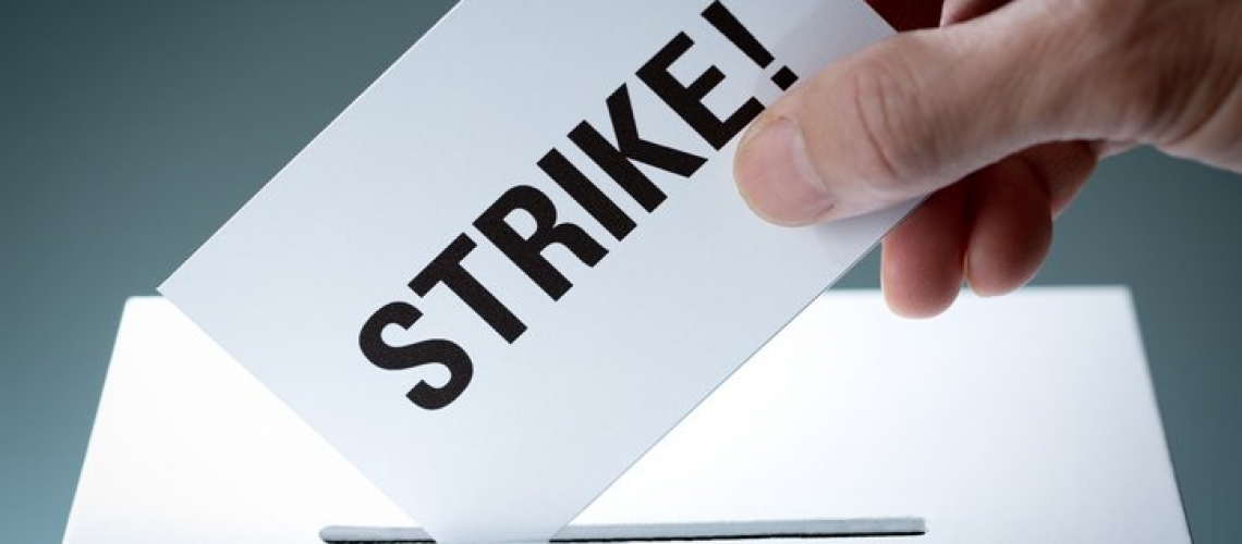 Examiners vote to strike over plans to increase tests per day